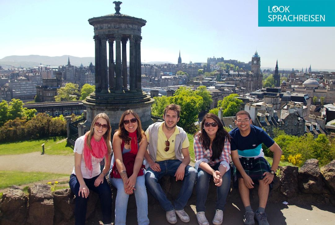 Englisch lernen in Edinburgh: Aufregend, Geheimnisvoll & Geschichtsträchtig