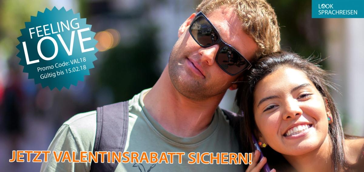 Jetzt Valentinsrabatt sichern & zusammen die Welt auf einer Sprachreiseentdecken!
